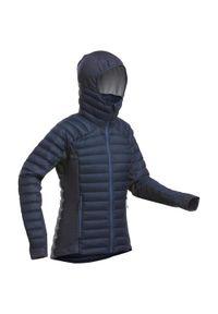 WEDZE - Kurtka narciarska damska warstwa 2 freeride Wedze FR900 Warm. Materiał: puch, mesh, materiał. Sport: narciarstwo