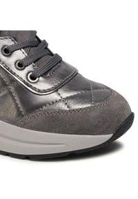 Geox Sneakersy D Backsie B D04FLB 0BN22 C1G9F Szary. Kolor: szary