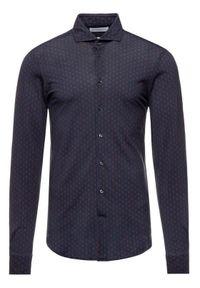 Baldessarini Koszula 41234/000/4983 Granatowy Regular Fit. Kolor: niebieski #4