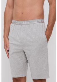 Calvin Klein Underwear - Szorty piżamowe. Kolor: szary. Materiał: włókno, dzianina. Wzór: gładki