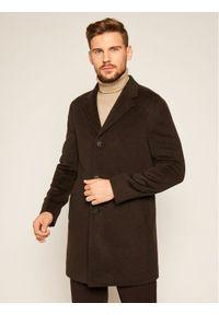 Brązowy płaszcz przejściowy Oscar Jacobson