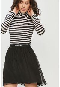 Czarna spódnica Calvin Klein Jeans casualowa, na co dzień