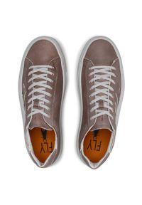 Fly London - Sneakersy FLY LONDON - Somafly P601455002 Lt.Grey. Okazja: na co dzień. Kolor: szary. Materiał: nubuk. Szerokość cholewki: normalna. Styl: casual
