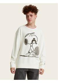 Levi's® Bluza PEANUTS® Striped 23894-0002 Beżowy Regular Fit. Kolor: beżowy