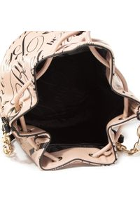 Różowa torebka worek Blumarine