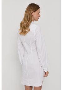 Samsoe & Samsoe - Samsoe Samsoe - Sukienka. Okazja: na co dzień. Kolor: biały. Materiał: tkanina. Długość rękawa: długi rękaw. Wzór: gładki. Typ sukienki: proste. Styl: casual #3