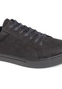 vagabond - Sneakersy VAGABOND - Paul 4983-050-92 Black/Black. Okazja: na co dzień. Kolor: czarny. Materiał: skóra, nubuk. Szerokość cholewki: normalna. Styl: sportowy, casual