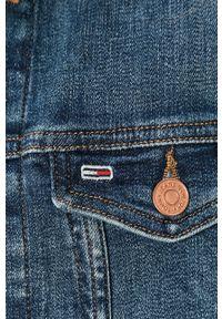 Niebieska kurtka Tommy Jeans bez kaptura, na co dzień