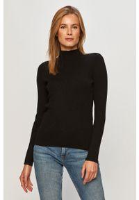 Czarny sweter Vila z długim rękawem, na co dzień