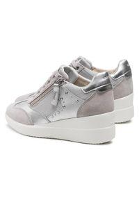 Geox Sneakersy D Stardust B D1530B 02210 C1010 Szary. Kolor: szary