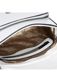 Biała torebka klasyczna Puccini klasyczna