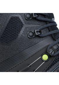 Czarne buty trekkingowe Salewa trekkingowe, Gore-Tex
