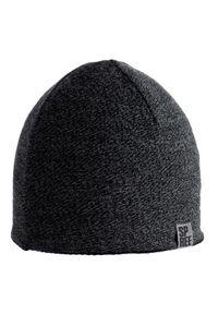 Szara czapka Spree na zimę, melanż