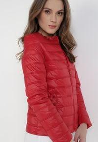 Born2be - Czerwona Kurtka Theliphelia. Kolor: czerwony