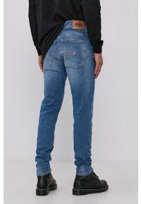 Tommy Jeans - Jeansy Miles. Kolor: niebieski