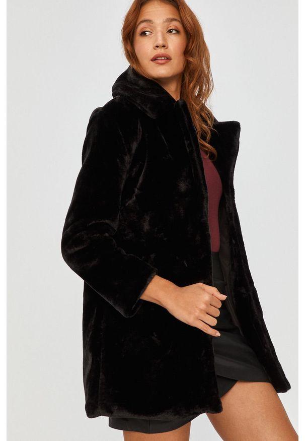 Czarna kurtka Answear Lab na co dzień, bez kaptura, wakacyjna
