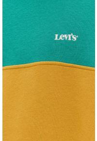 Levi's® - Levi's - Bluza. Okazja: na spotkanie biznesowe. Kolor: zielony. Styl: biznesowy