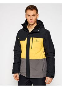 Rip Curl Kurtka snowboardowa Twister SCJEA4 Żółty Regular Fit. Kolor: żółty. Sport: snowboard