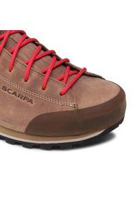 Scarpa - Trekkingi SCARPA - Margarita Max Gtx GORE-TEX 32671-200 Natural. Kolor: brązowy. Materiał: skóra, nubuk. Technologia: Gore-Tex. Sport: turystyka piesza