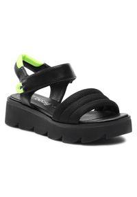 Czarne sandały Betsy na lato