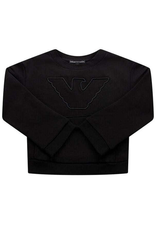 Czarna bluza Emporio Armani