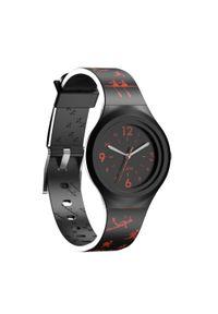 Czarny zegarek KIPRUN sportowy