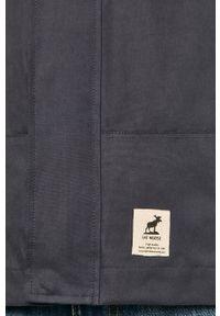 Niebieska kurtka Fat Moose z kapturem, na co dzień
