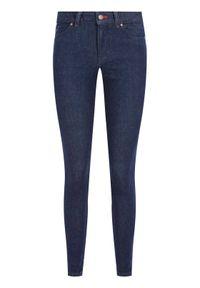 TOMMY HILFIGER - Tommy Hilfiger Jeansy Harlem Ultra WW0WW26473 Granatowy Skinny Fit. Kolor: niebieski. Materiał: jeans, elastan, bawełna