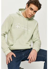 columbia - Columbia - Bluza 1681664.. Kolor: zielony. Wzór: nadruk