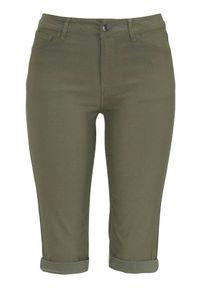 Freequent Długie szorty z bengaliny Amie oliwkowy female zielony M (40). Kolor: zielony. Długość: długie. Styl: elegancki