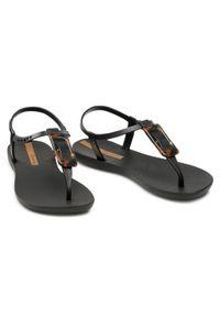 Czarne sandały Ipanema