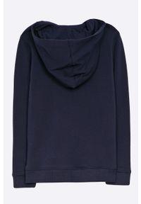 Niebieska bluza rozpinana Guess Jeans casualowa, z kapturem, na co dzień #3
