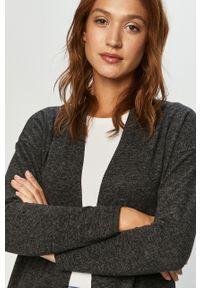 Szary sweter rozpinany Haily's na co dzień, casualowy