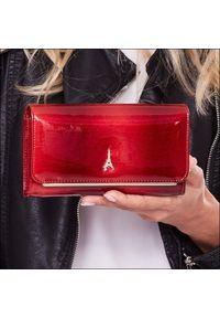 Czerwony portfel PARIS DESIGN