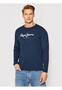 Pepe Jeans Longsleeve Eggo Long PM501321 Granatowy Regular Fit. Kolor: niebieski. Długość rękawa: długi rękaw