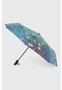 Answear Lab - Parasol. Kolor: niebieski