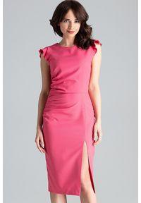 Sukienka bez rękawów, ołówkowa