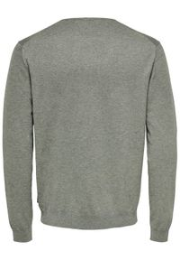 Only & Sons - ONLY & SONS Sweter Wyler 22020088 Szary Regular Fit. Kolor: szary #6