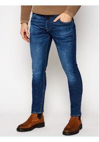 Guess Jeansy Skinny Fit Miami M0BAN1 D4711 Niebieski Skinny Fit. Kolor: niebieski