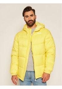 Fila Kurtka puchowa Scooter 687988 Żółty Regular Fit. Kolor: żółty. Materiał: puch