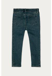 Niebieskie jeansy GAP z aplikacjami, na co dzień