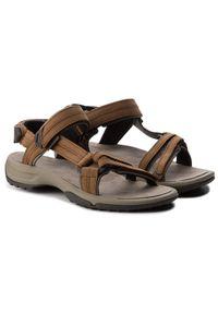 Brązowe sandały trekkingowe Teva