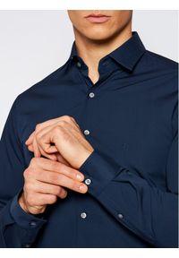Niebieska koszula biznesowa Calvin Klein