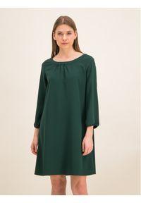 Zielona sukienka koktajlowa iBlues wizytowa