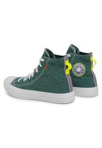 Zielone trampki Converse