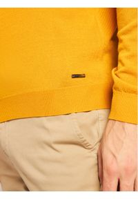 Roy Robson Sweter 5051-91 Żółty Regular Fit. Kolor: żółty