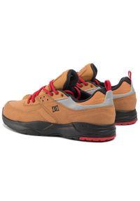 Brązowe buty sportowe DC z cholewką, Thinsulate