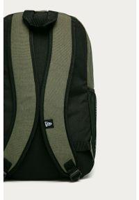 Zielony plecak New Era z nadrukiem