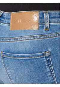 Pinko Jeansy Slim Fit Flora PE 21 PDEN 1J10KV Y6KW Niebieski Flare Fit. Kolor: niebieski. Materiał: jeans