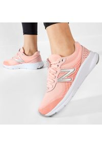 New Balance - Buty NEW BALANCE - W411lP2 Pomarańczowy. Kolor: pomarańczowy. Materiał: skóra, skóra ekologiczna, materiał. Szerokość cholewki: normalna